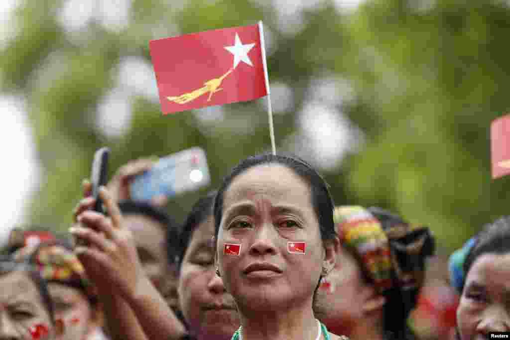 Основной кандидат в президенты Су Чжи в 1990 получила Нобелевскую премию мира