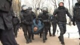 Police Disperse Constitution Reform Protest in St. Petersburg GRAB 1