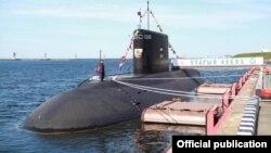 """Российская подводная лодка """"Старый Оскол"""""""