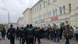 В Гомеле против протестующих применили слезоточивый газ