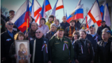 ILLUSTRATION - motor rally to the Crimea in honor of the anniversary of the referendum Simferopol - Sevastopol, 16Mar2019