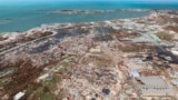 BAHAMAS -- The destruction caused by Hurricane Dorian is seen from the air, in Marsh Harbor, Abaco Island, Bahamas, Wednesday, Sept. 4, 2019.
