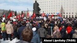 Протесты в Архангельске 7 апреля 2019 года