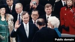 Инаугурация Джорджа Буша в 1989 году