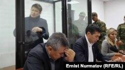 Сапар Исаков в зале суда