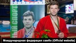 Степан Попов, чемпион мира и Европы по самбо