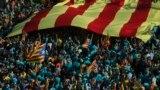 Марш за незадежнасьць Каталёніі ў Барсэлёне