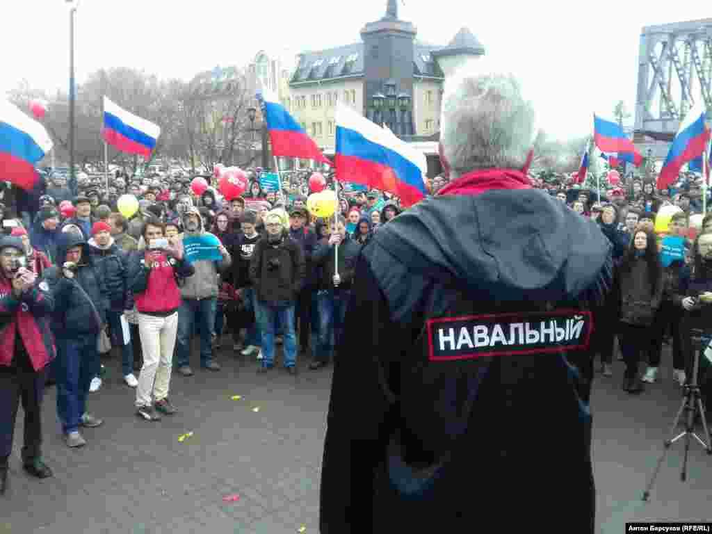 В Новосибирске акция была согласована с городскими властями