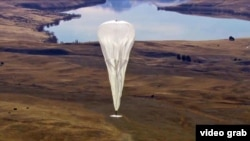 Воздушный шар проекта Project Loon