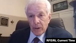 Defense attorney Mikhail Biryukov