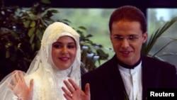 Биляль Эрдоган с женой