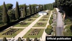 Сады в резиденции Кастель Гандольфо