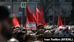 14 мая в Москве прошел многотысячныймитинг против реновации