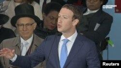Марк Цукерберг, выступление в Гарварде 25 мая 2017 года