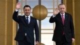 TURKEY -- Ankara Sadyr Japarov meets with Recep Tayip Erdogan in Ankara
