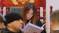 """Суд отказывается признать Саакашвили беженцем в Украине, люди в зале кричат """"Ганьба!"""" (""""Позор"""")"""