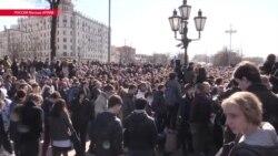 Дмитрий Борисов, задержанный после протестов 26 марта в Москве, получил год колонии