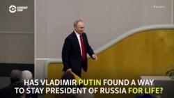 'Dictatorship' -- Critics Slam Vote Enabling Putin To Run For President Again