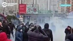 На Маршах против фашизма белорусы не разбегались даже после взрывов светошумовых гранат