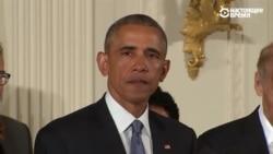 Барак Обама плачет, говоря о жертвах стрельбы в школах
