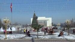 Почему жители Бишкека недовольны новогодним оформлением города