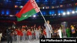 Сборная Беларуси во время Олимпиады в Рио 5 августа 2016 года