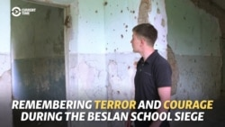 'A Sniper Will Kill You': Mother And Son Recall Terror Of Beslan Siege