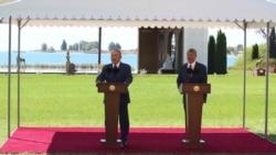 Президенты Казахстана и Кыргызстана торжественно открывают границы