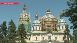 Полностью на пожертвования: как реставрируют главный православный собор Казахстана