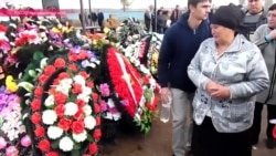 На хуторе Гречаная Балка в Краснодарском крае хоронят погибшего в Сирии солдата
