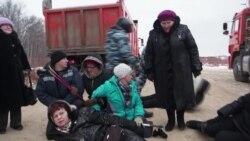 Под Казанью разогнали палаточный лагерь экоактивистов