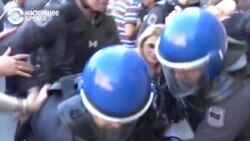 В Баку полицейские разогнали согласованную с властями акцию