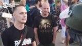 """""""За что вы нас? Вы стоите с оружием против белорусского народа!"""""""