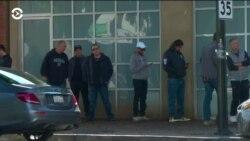 Американцы стоят в очередях, чтобы купить оружие