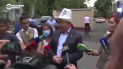 Зачем Акаев приезжал в Бишкек