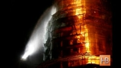 В Москве потушили пожар в Новодевичьем монастыре