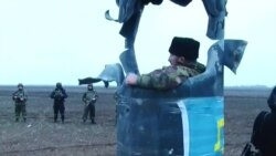 Активисты блокады Крыма препятствуют ремонту подорванных опор ЛЭП