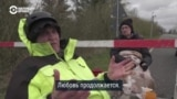 Пожилые датчанка и немец каждый день встречаются на закрытой границе, чтобы сказать, что любят друг друга
