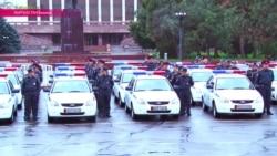 На улицы Кыргызстана вышла новая патрульная полиция