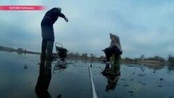 Главное – клев, а не жизнь. Как полицейские спасают экстремалов Рижского озера