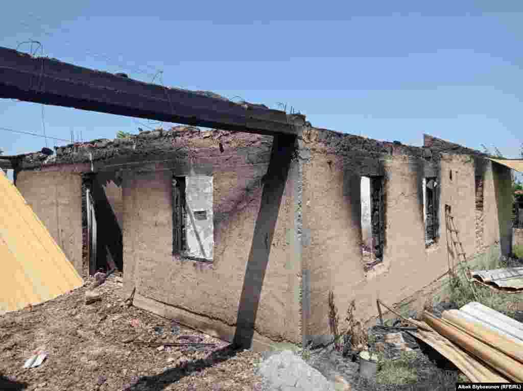 Конфликт на кыргызско-таджикской границе начался 28 апреля и продолжился 29-30 апреля. Журналисты кыргызской и таджикской служб Радио Свобода 2 мая посетили села Максат (оно находится в Кыргызстане) и Сомониен (с таджикской стороны) исделали снимки сожженных домов и других последствий обстрелов