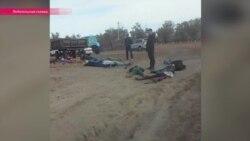 В Казахстане бойцы спецподразделений избили местных жителей из-за рачков