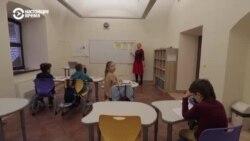 В Вильнюсе открылась белорусская школа. Учителя – беженцы