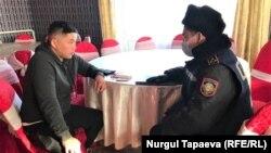 Допрос Мурагера Алимулы после нападения 22 января 2021 года