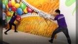 В Голливуде российские художники создали Музей иллюзий