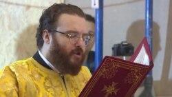 В Андреевской церкви прошла первая служба экзарха Константинопольского патриархата