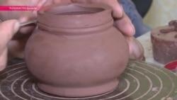 Таджикская керамика: как лепят и глазируют изделия из местной глины