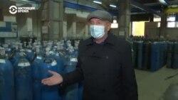 В Украине для больных COVID-19 не хватает кислорода