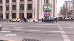 В Душанбе ловят пешеходов за переход дороги в неположенном месте
