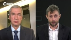 Павел Латушко рассказывает о плане действий Координационного совета
